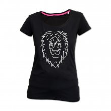 Lions Head - Lady-Shirt - Löwe XL