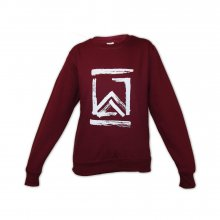 Andreas Wellinger - Sweater Burgundy - Logo 2.0 M